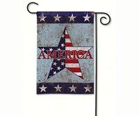 Magnet Works America Garden Flag, 33276