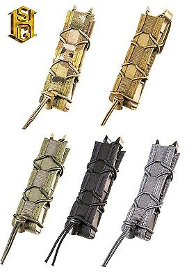 HSGI MOLLE or BELT Extended Pistol P Taco LT Mag Pouch-17EX00/19EX00-MC-CB-OD-BK