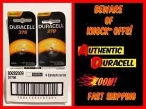 2x-DURACELL-379-SR63-SR521W-Button-Lithium-Battery-1-5-Volt-NEW