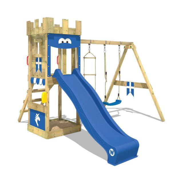 Wickey Knightflyer Climbing Frame Kids Garden Castle Playground ...