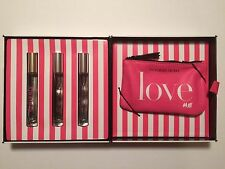 VICTORIAS SECRET ROLLERBALL PERFUME 4 PC GIFT SET BOMBSHELL HEAVENLY BODY BY VIC