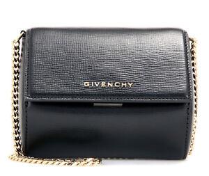 fbb08181863c NEW Genuine Givenchy Pandora Box Micro Chain Bag Black 100% calf ...