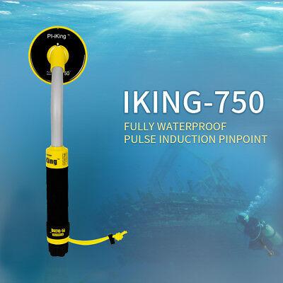 Professioneller Metalldetektor wasserdicht Unterwasser Pinpointer Gold Hunter