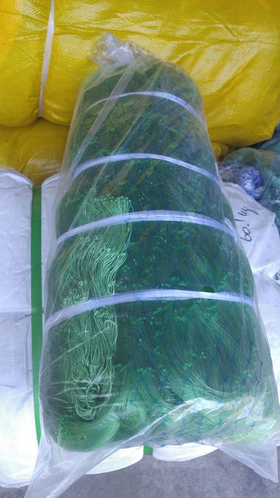 6 inch Gauge 60 mesh 630ft mono fishing net / Gauge inch 16 twine Größe 42a2ab