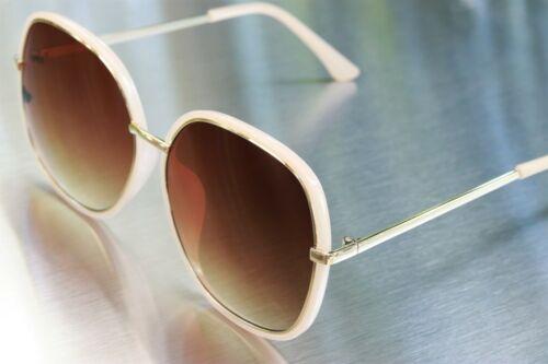 Women Oversized Sunglasses Celebrity Style Metal//Plastic Design Blocks 100/% UV