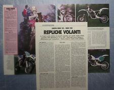 MOTOSPRINT987-PROVA / TEST-1987- CAGIVA WMX 125 - WMX 250 - 3 fogli