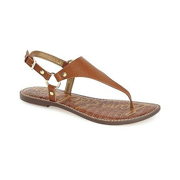 Sam Edelman Edelman Edelman Greta Saddle Leather Sandal womens sizes 6-10  NEW a50b53