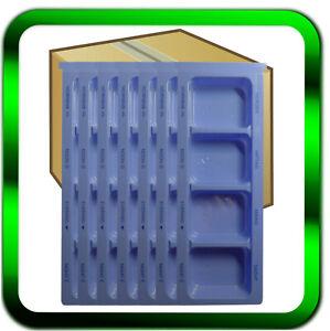 Pillendose Tablettendose Medikamentenbox Pillenbox blau 4 Fächer ►Händler◄