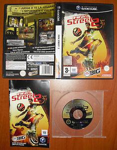 Fifa-Street-2-EA-Sports-BIG-Nintendo-GameCube-GC-amp-Wii-Pal-Espana-COMPLETO