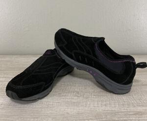 easy spirit women's black casual slip on shoes size 85