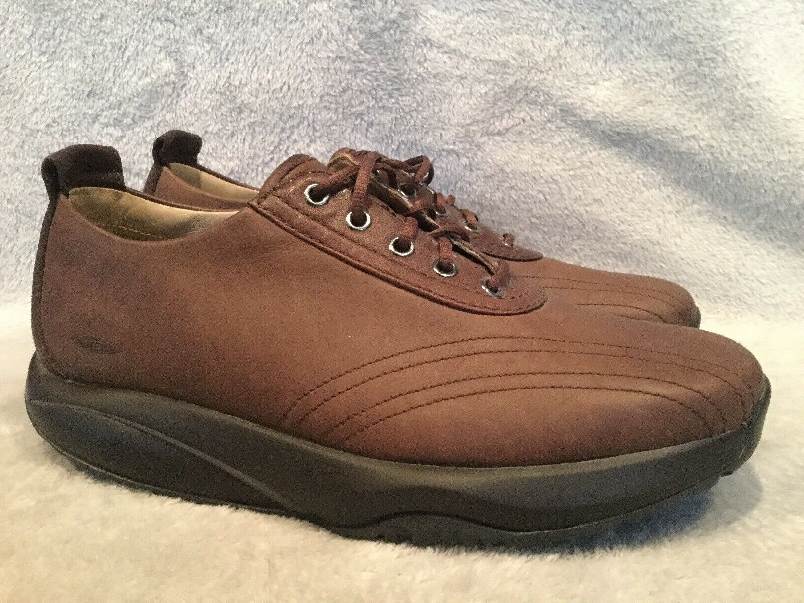MBT Wingu Brown Walking Oxfords Comfort shoes Womens Size 39 8.5