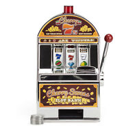 Cherry Sevens Slot Machine Bank Toy With 10 Free Tokens