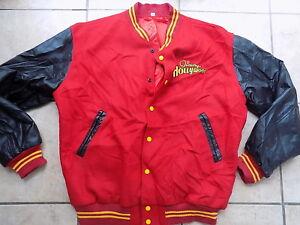 Jimmy-Hollywood-movie-Team-Jacket-XL-Joe-Pesci-wool-leather-vintage-VGUC