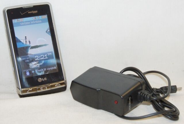 LG VX9700 Dare Cell Phone Touch Screen Verizon Wireless GPS bluetooth vCast 3G