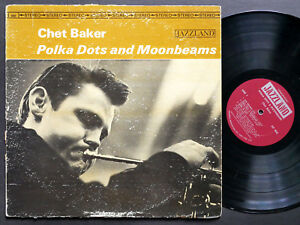 CHET-BAKER-Polka-Dots-And-Moonbeams-LP-JAZZLAND-JLP-988-Johnny-Griffin