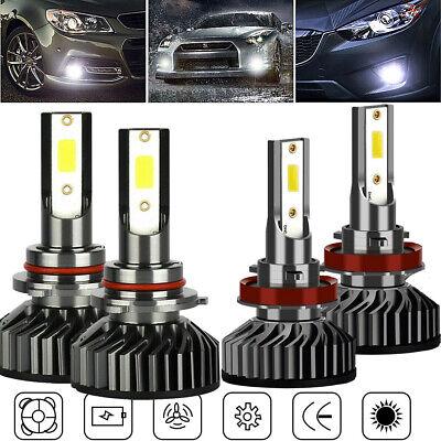 For Subaru Impreza 2015-2018 9005 H11 LED Headlight High Low Beam Combo 4 Bulbs