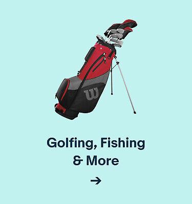 Golfing, Fishing & More