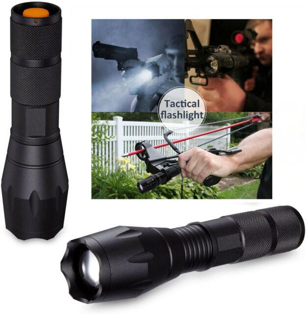 90000LM X800 Ultrafire Tactical Military CREE T6 LED Flashlight Torch Bike Light