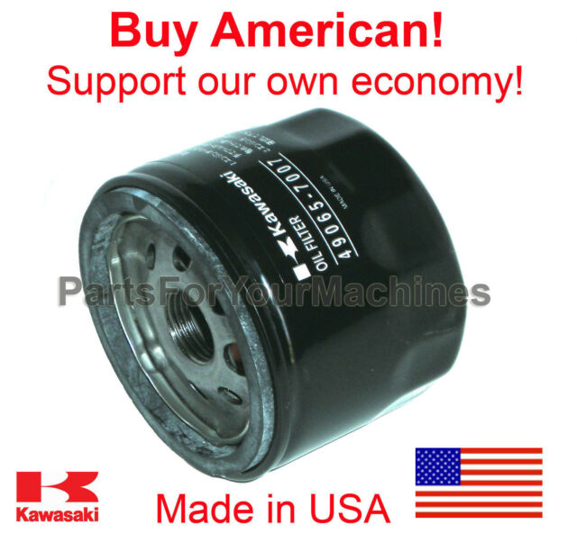 Oem Kawasaki Oil Filter For John Deere Lt133 Lt155 Lt166 Tractors Made In Usa