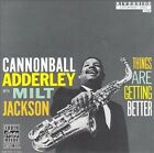 Things Are Getting Better by Milt Jackson/Cannonball Adderley (CD, Jan-1988, Concord)