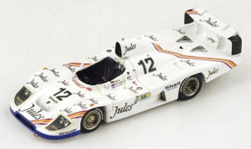 Spark Model 1:43 S4433 Porsche 936/81  12 12th Le Mans 1981 NEW