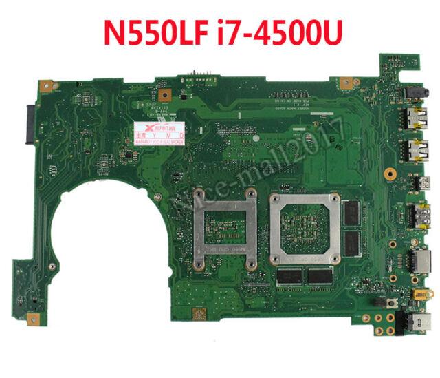 For ASUS N550L Q550L N550LF Q550LF Motherboard W// i7-4500U GT745M MainBoard