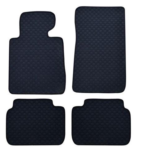 RAU Gummimatten OCTAGON schwarz Mitsubishi Pajero V60 3trg Bj 5//00-12//06