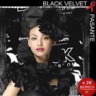 ❤ PASANTE BLACK VELVET ❤ x 20 préservatifs tout noirs et si doux