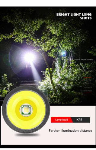 8000LM LED Medical Flashlight Mini Pen Light Portable Pocket Light 3 Modes