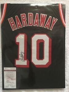 Tim-Hardaway-Signed-Custom-Heat-Jersey-10-JSA-Witnessed