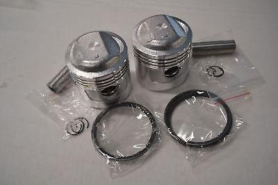 Honda CB450 CL450 Piston Kit /< 2 Kits /> .5mm 0.50mm OS New Reproduction