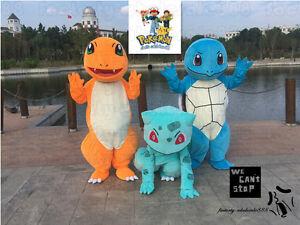 Image is loading Pokemon-Go-Squirtle-Turtle-BULBASAUR -Charmander-pikachu-Mascot- & Pokemon Go Squirtle Turtle BULBASAUR Charmander pikachu Mascot ...