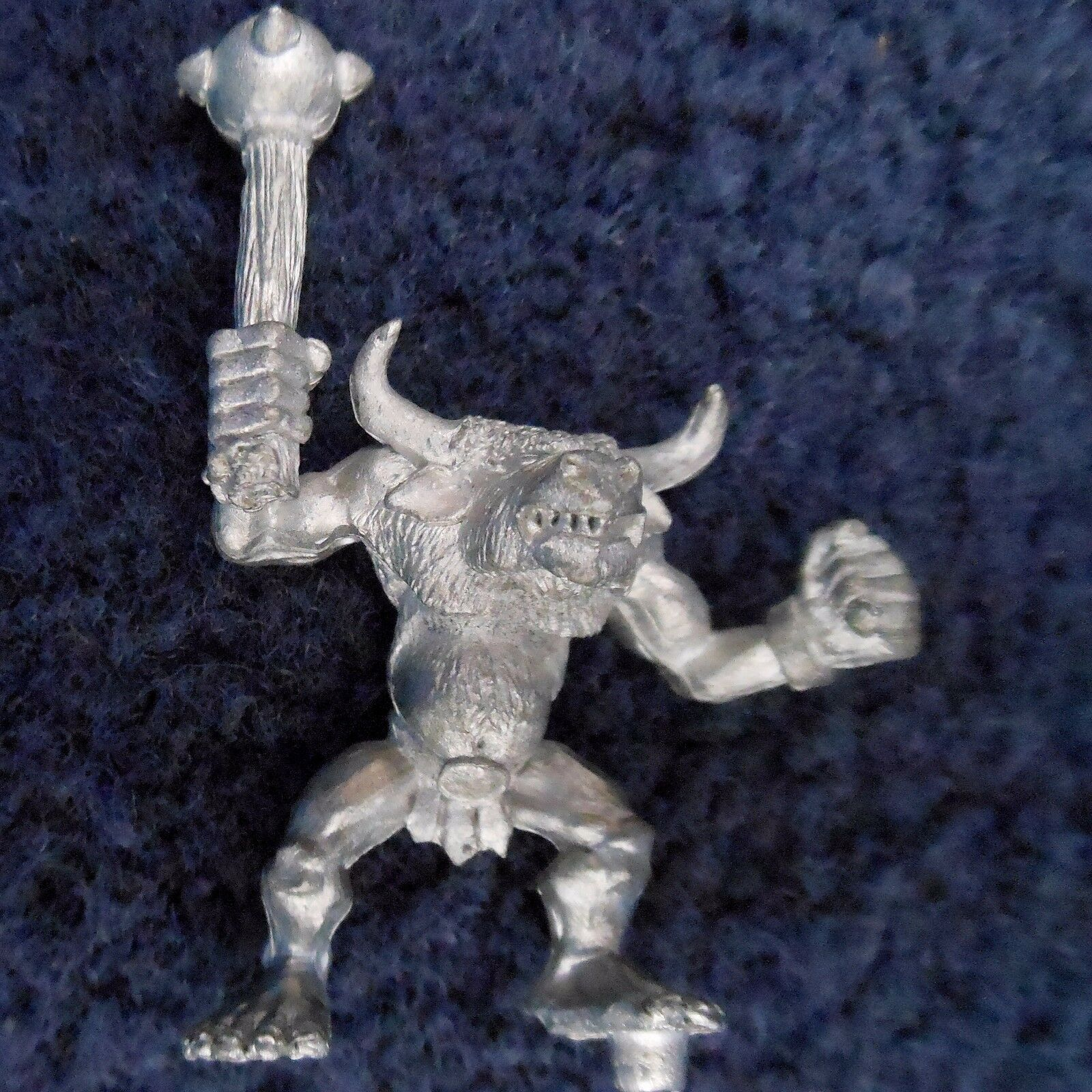 1990 Chaos Beastman Marauder Minotaur C MM42 Citadel Warhammer Beasts Warherd GW