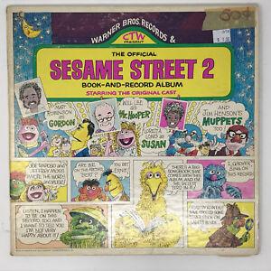Sesame-Street-2-Book-And-Record-Album-LP-Vinyl-Original-1971