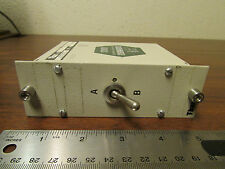 Digital Equipment DEC PDP Vintage A/B Switch BMS11LC T-Bar Relay Switch