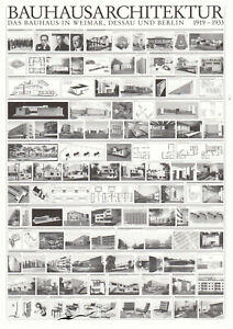 Postkarte: Bauhausarchitektur 1919-1933 Weimar Dessau Berlin