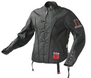 Black, X-Large Power Trip Gauge Mesh Mens Motorcycle Jacket
