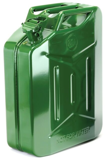 BIKE IT 20l Gasolina Bidón Verde Gasolina Can