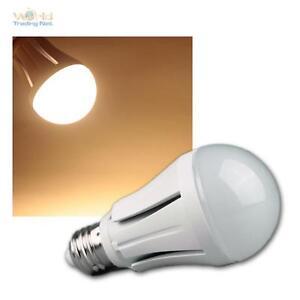 5 LED-Tropfen-Lampen E27 5W warmweiß Birne E-27 Glühbirne Leuchtmittel 400lm