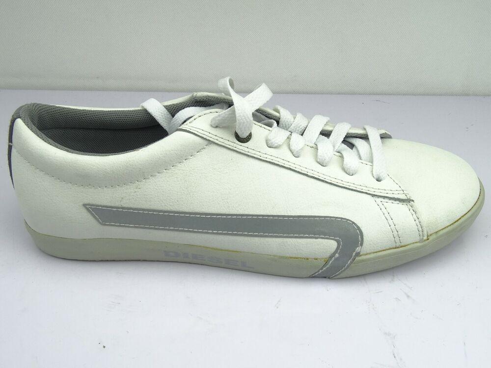 Diesel Bikkren Chaussures Homme De Sport Cuir Loisirs Baskets Gr. 41 44