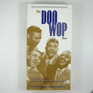 ORIOLES, FLAMINGOS & MANY OTHERS The Doo Wop Box 4CD BOX SET 1993 R&B NM NM
