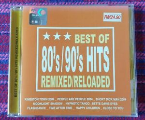 Various-Artist-Best-Of-80-039-s-90-039-s-Hits-VSP-Malaysia-Press-Cd