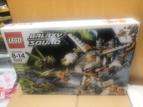 New LEGO 70707 Galaxy Squad  CLS-89 ERADICATOR MECH Retired Alien