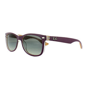 d4982b0eb2e Ray-Ban Junior Sunglasses New Wayfarer 9052S 703311 Violet Orange ...