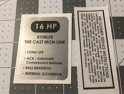 Kohler Engine Loses Power Under Load