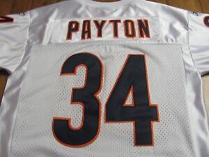 official photos a7d42 d65d3 Details about Chicago Bears Reebok Football Jersey - Walter Payton