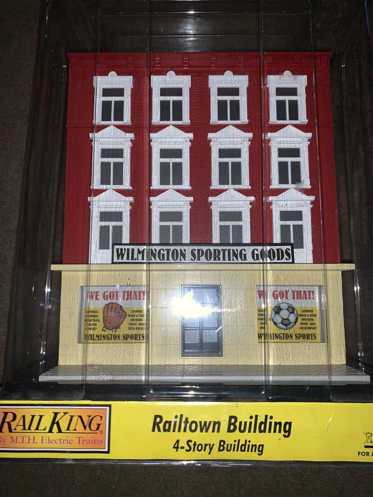MTH RAILre WILMINGTON SPORTING GOODS 4 storia città costruzione nuovo