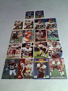 Darrell-Green-Lot-of-85-cards-42-DIFFERENT-Football