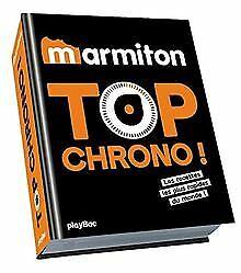 Marmiton-Top-chrono-Les-recettes-les-plus-rapides-d-Livre-etat-tres-bon