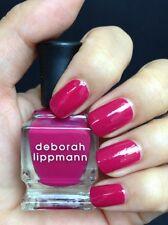 NEW! Deborah Lippmann SEXYBACK Nail Polish 0.27 fl.oz. (mini size) FUCHSIA PINK